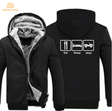 Eat Sleep Gaming Hoodies Brand Mens Sweatshirts 2019 Autumn Winter Hot Sale Thick Men Hoodie Black Gray Coat For Male M-5XL