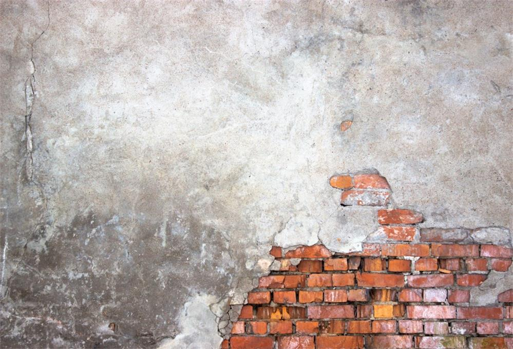 Laeacco Photography Backdrops Old Cement Brick Wall Child Portrait Photographic Backgrounds Photocall Photo Studio in Background from Consumer Electronics