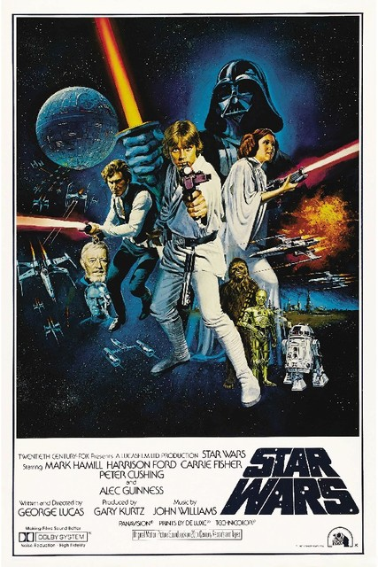 Star Wars Classic Movie posters Silk Fabric Poster Prints