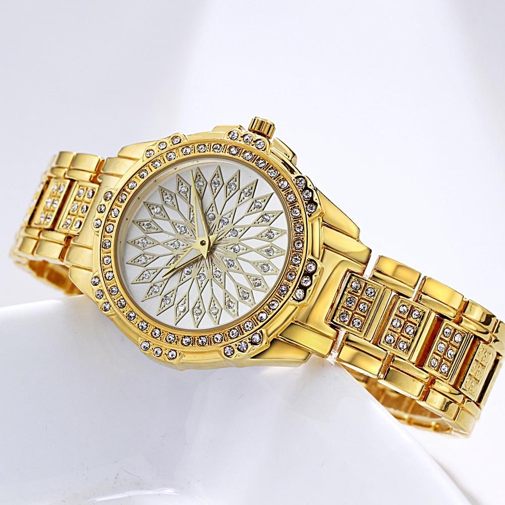 Original Gold Watch Women Quartz Watches Ladies Top Brand Luxury Female Wrist Watch Jewelry Watch Girl Clock Relogio Feminino