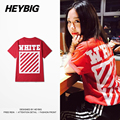 HEYBIG version 2017 new Hot fashion T-shirts Youth Hip hop Street Tops soft Cotton Tee High quality Chinese size!! Clothing