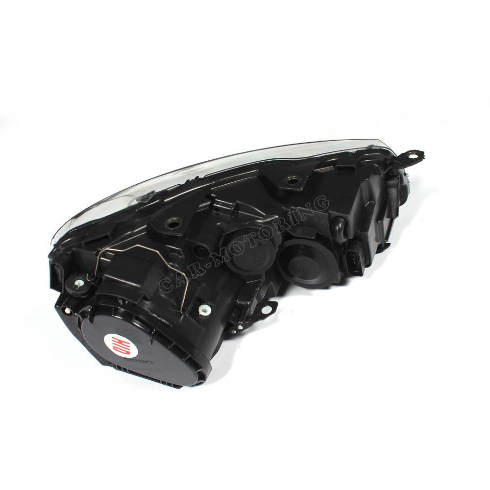 RHD для правостороннего движения PP переднего бампера healdight автомобильные лампы для VW Golf6 MK6 2010-2013