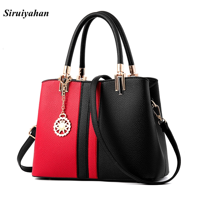 Siruiyahan Luxury Handbags Women Bags Designer Shoulder Bags Women Leather Handbags Casual Tote Bags Women Messenger Sac A Main sisjuly 2017 new leather bag women handbags casual tote luxury brand designer oil wax lady shoulder bags female sac a main