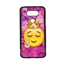 Funny Queen Emoji New Arrival Cute High Quality UV Black Bag Case For LG G5