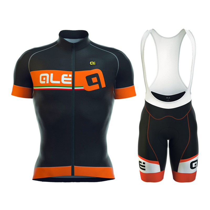 Pro ALE Breathable Cycling Jersey Quick Dry Short Sleeve Cycling Clothing Bicycle Jersey and Gel Pad Bike  bib Shorts breathable quick dry bike ropa ciclismo skintight short sleeve cycling jersey clothes gel pad bicycle cycling clothing