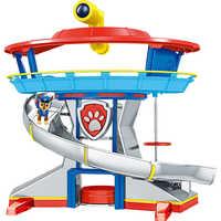 Patrulla Canina, juguetes para perros, Base de mando de rescate, conjunto de Patrulla de cachorros, modelo de figuras de acción Anime, juguete para regalo de niños