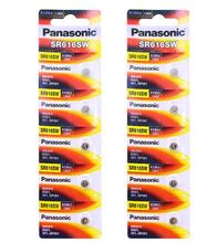 80pcs/lot Panasonic SR616SW Silver Oxide Button Cell Batteries D321 321 GP321 1.55V Coin Battery For Watch 6.8mm*1.6mm