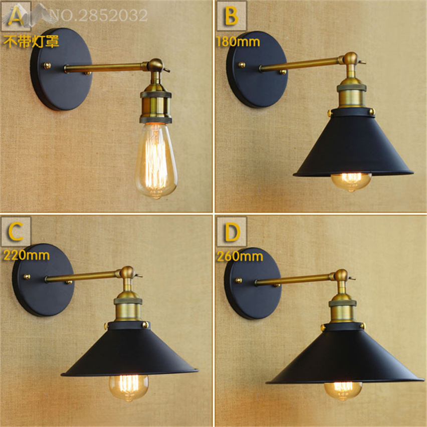 Jw Adjustable Industrial Loft Metal Modern Vintage Wall Light Retro Brass Wall Lamp Country Style Sconce Lamp Fixtures Decor To Adopt Advanced Technology Lamps & Shades