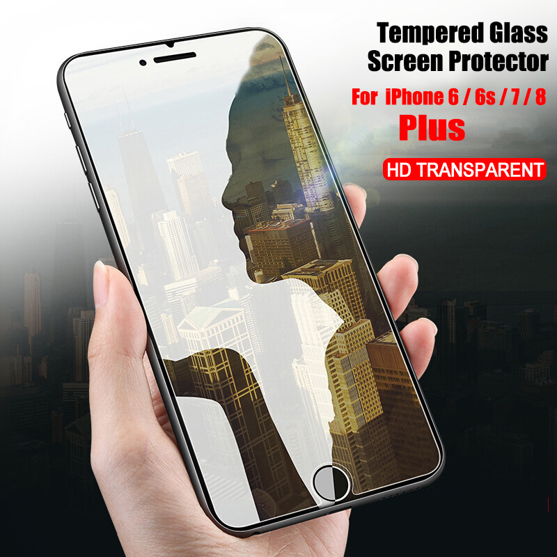 9H 2.5D Tempered Glass For iPhone 6 6s 7 8 Plus Glass Screen Protector Anti Blu-ray Toughened glass For Apple iPhone 6 7 8 plus image