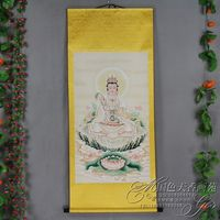 Exquisite Chines Antique collection Imitation ancient Bodhisattva portraits No.8