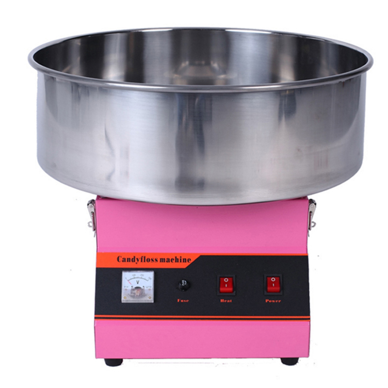 1030W Electric Commercial Cotton Candy Maker Fairy Floss Machine Stainless Steel Pink шр 22 800