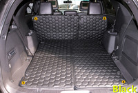 Для Ford Explorer 2011 2015 качественная кожаная внутренняя крышка багажника 9 шт./компл. красный/черный