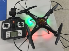 New FPV 2.4Ghz 4ch rc drone with wifi camera &Auto hover  High limit
