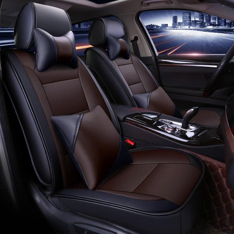 Всесезонные универсальные автомобильные подушки для сидений, автомобильные накладки для Audi A3 A4 A5 A6 A7 Series Q3 Q5 Q7 SUV Series