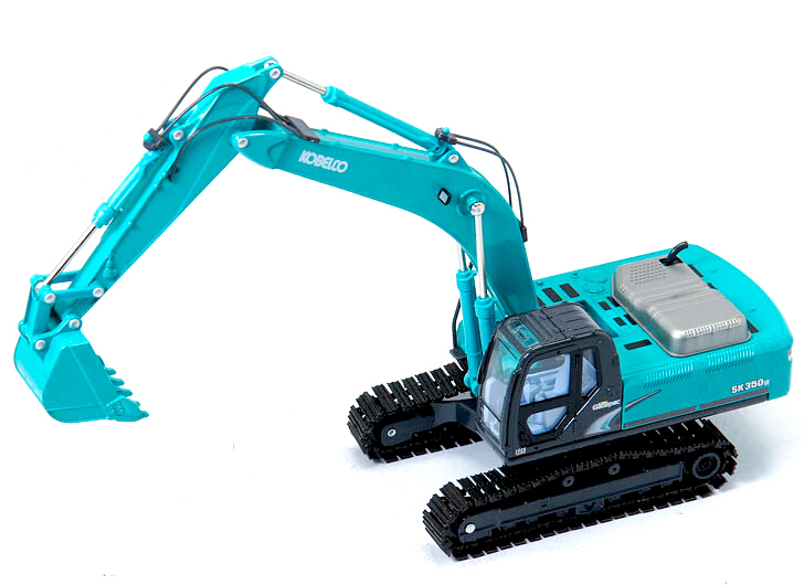 KOBELCO1:43SK350LC alloy excavator model of grade alloy engineering vehicle model
