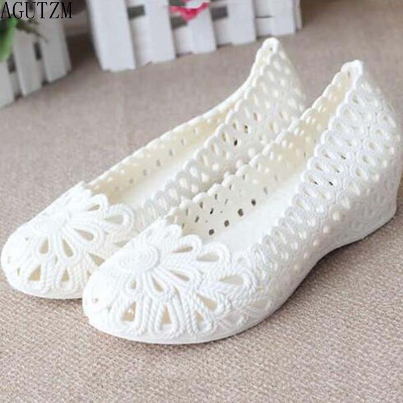 AGUTZM New Jelly Sandals Summer Shoes Soft Woman Wedges Gladiator Sandals Casual Nest Platform Shoes Woman Plus Size 36-40 V340 new jelly sandals summer shoes soft woman wedges gladiator sandals casual nest platform shoes woman plus size 36 40 2e13
