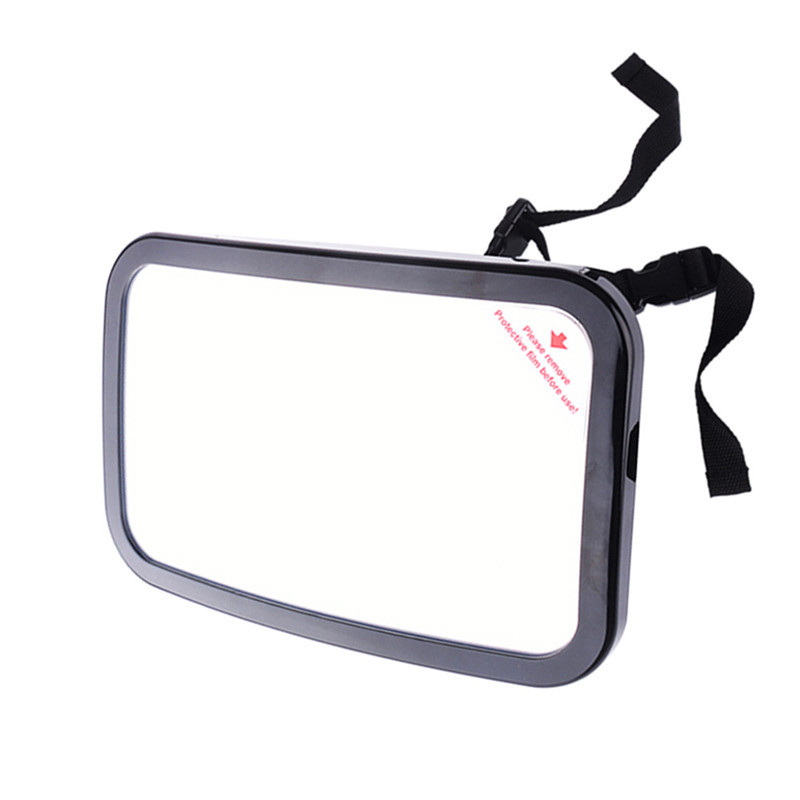 Hot Selling Car Seat Mirror Baby Facing Rear Safety Easy View Back Child Care Square Safety Baby Kids Monitor