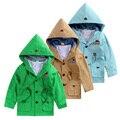 Мальчик пальто весной и осенью 2016 весной новый пункт пальто пыли растет чистого хлопка детские мужчин сокровище