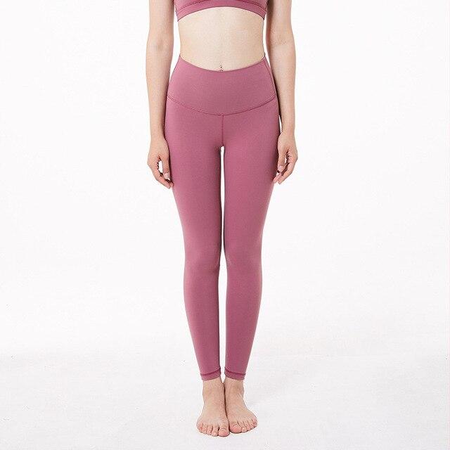 Ghette di Yoga Push Up Lulu Pantaloni di Yoga Leggings di Sport Delle Donne di Fitness Calzamaglie con Tasca Femme di Alta Vita Legins Joga Dropshipping 3