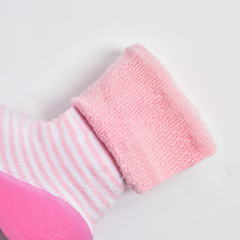 Dikkere Baby Jongens Meisjes Schoenen Leuke Eerste Walker Babylaarzen - Baby schoentjes - Foto 4