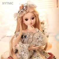 IN STOCK XYTMC 60 CM DIY bjd Limited edition 9 Style Fashion Princess Dolls child gifts Barbies Dressing Dolls girl Toy DHL