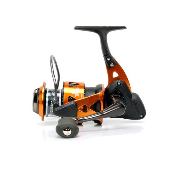 Okuma fishing reel trio 55h two-thread orange cup fishing reels spinning wheel spinning wheel