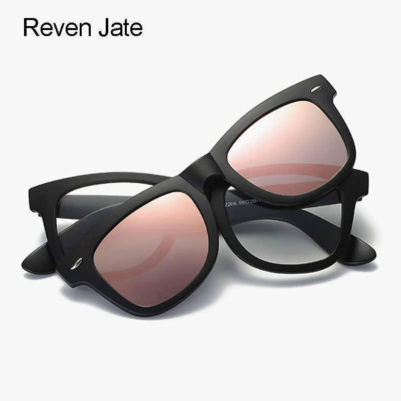 dace969e0004 Reven Jate Polarized Sunglasses Frame Magnetic Glasses Frame Tr-90 Plastic  Clipo-ons for