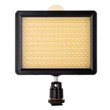 Новый WANSEN W160 светодиодный Камера свет лампы DV Для Камера 7.5 В 10.5 Вт Прямая доставка Оптовая Сильный как CN-160