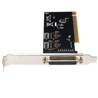 1pcs PCI I/O Parallel Port DB25 25 Pin IEEE 1284 Printer Card Controller Adapter