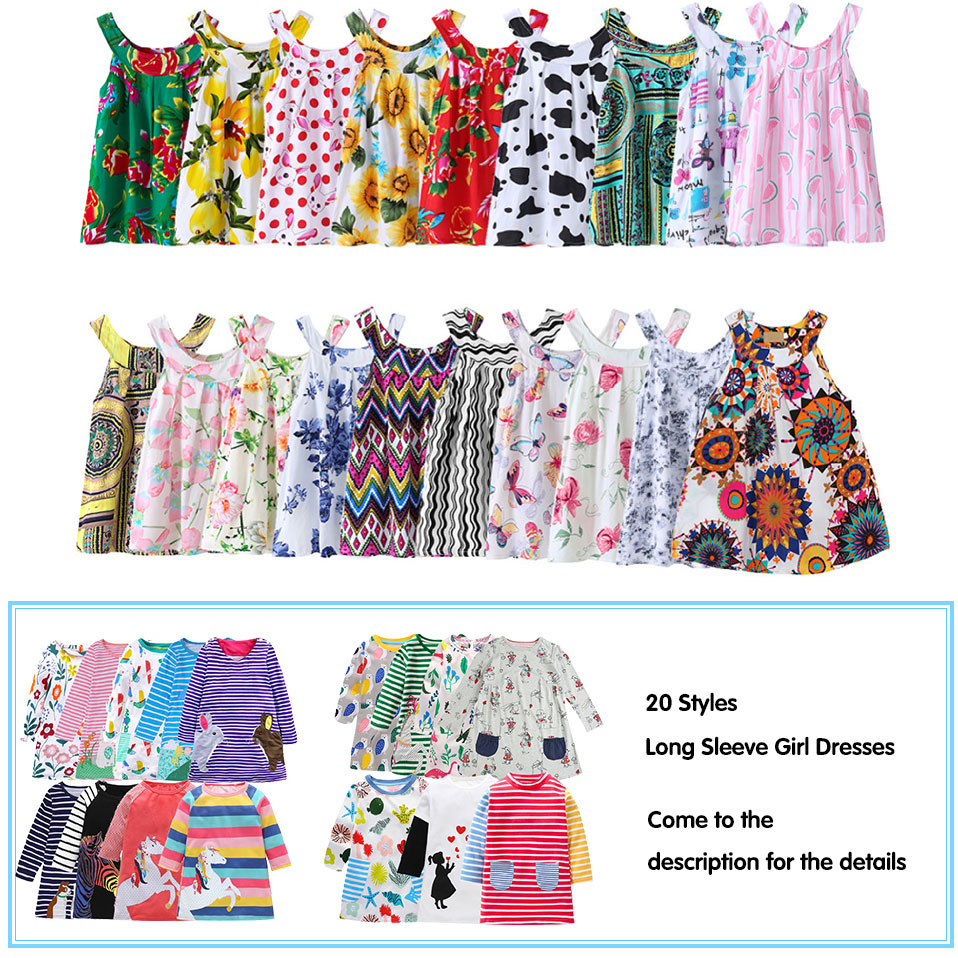 Summer Girl Dresses Cute Baby Girls Party Tutu Clothes Kids Princess Floral Dress  Baby Clothing Vestidos Costumes Fashion