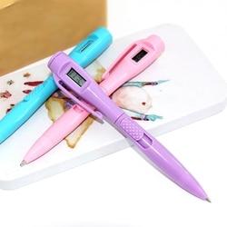 Elektronische Klok Balpen Met Digitale Klok Timing Test Pen Examen Horloge Pen Creatieve Kantoorbenodigdheden MAR29