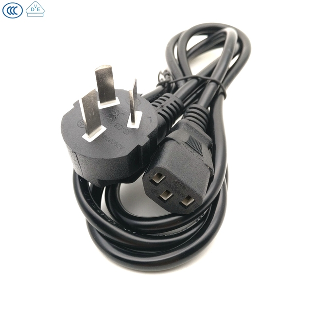 Wondrous 1 5M Iec C13 Kettle To Au Plug 3 Pin Ac Power Cable Cord Adapter Wiring Cloud Strefoxcilixyz