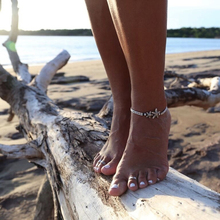 Vintage Charm Starfish Ankle Bracelet