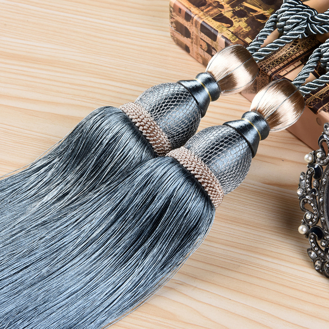 High Quality Fashion Tapestry Tassel Fringe Curtain Accessories Hanging Ear Fringed Home Wall Decoration
