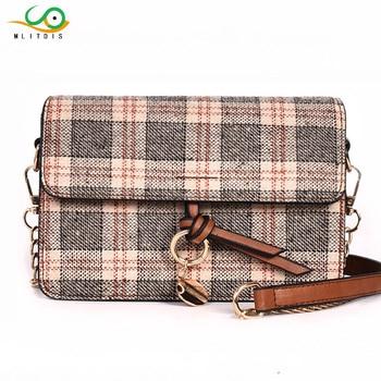 MLITDIS Women Flap Bags Luxury Handbag Famous Brand Women Plaid Lattice Bags Designer Chain Crossbody Bags for Women Bolsa Sac