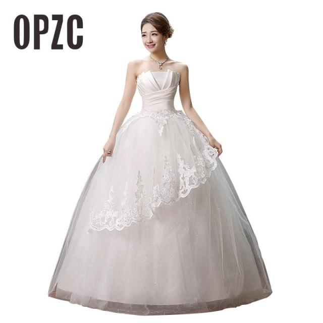 Hot Sale 2016 Sweetange Korean Style Sweet Princess Fashion Tirered Wedding  Dress Laciness Bridal Gowns vestido de noiva HS 112 0e12e8356f5f