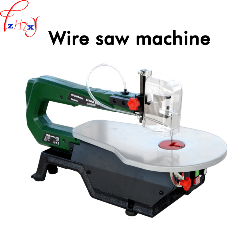 Table saw machine SS16120 copper wire motor wire saw woodworking tools can cut wood, plastic, soft metal 220V 1PC motor copper wire tensionmeter measurement at reasonable prices