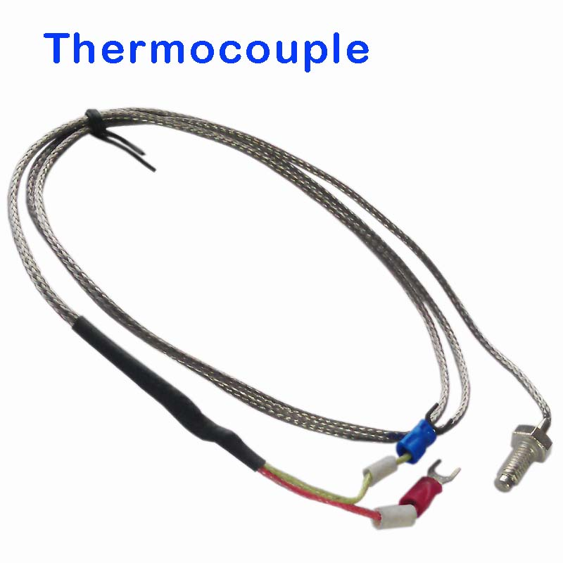 E/K Thread Type Thermocouple 0-400 Degree Sensor