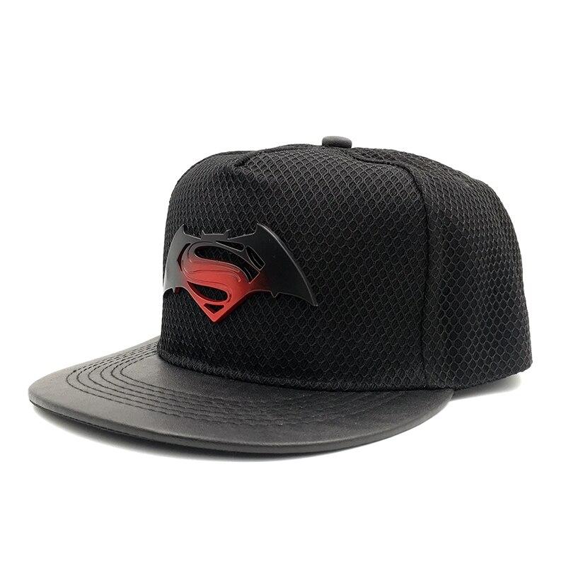 Prix pour 2016 Nouveau Batman VS Superman Vs Batman Américain DC Animation Comique de Bande Dessinée Fans Baseball Snapback Cap Chapeau Pour Adulte Hommes