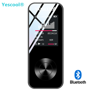 Mini reproductor deportivo Yescool X2, walkman con Bluetooth, reproductor de música hifi, altavoz FM, grabadora de audio por voz, vídeo dictáfono, MP3 y MP4