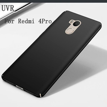 UVR Hard Back Plastic Smooth Silky Case For Xiaomi redmi 4 Pro cases For Xiaomi redmi 4Pro Case Full PC Cell Phone Cover