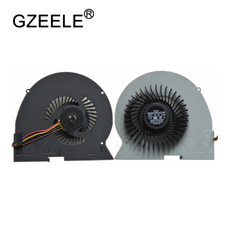 GZEELE New laptop cpu fan cooler For Lenovo IdeaPad Y510P Y510PT-ISE Y510PA Y430p Y510P-IFI CPU Cooling Fan notebook 4 pins fans new notebook laptop keyboard for lenovo ideapad y500 y500n y500nt backlit gr german layout