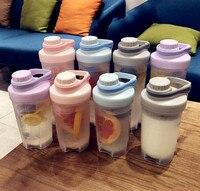 500/700 мл Высокое качество посуда для напитков Спорт герметичные шейкер, бутылка для протеина Whey протеин тренажерный зал смеситель бутылка во...