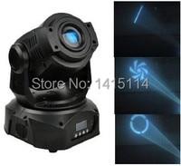 2pcs/lot led spot light mini 90W led beam moving head spot light dmx stage lighting rotation gobo effect