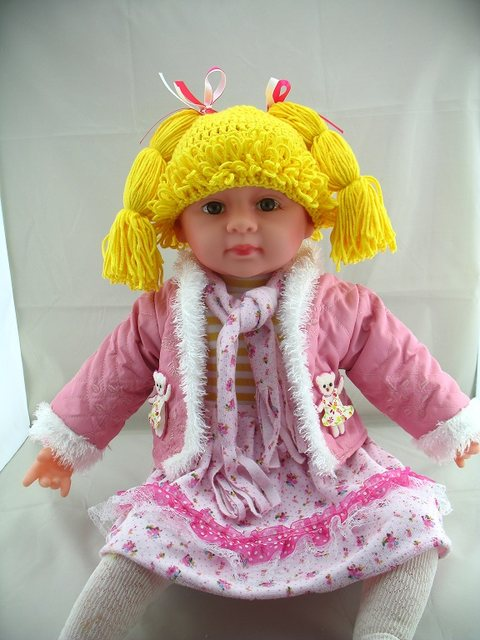 Online Shop Free Shipping Baby Wig Hat Kid Inspired Hat Cabbage