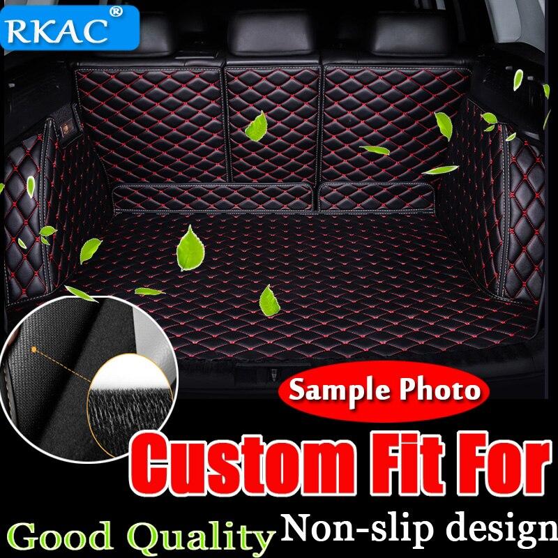 RKAC на заказ автомобильный коврик багажника для Mercedes Benz все модели C ML GLA GLE GL CLA R A B GLS GLC class автомобильные аксессуары для укладки кожи