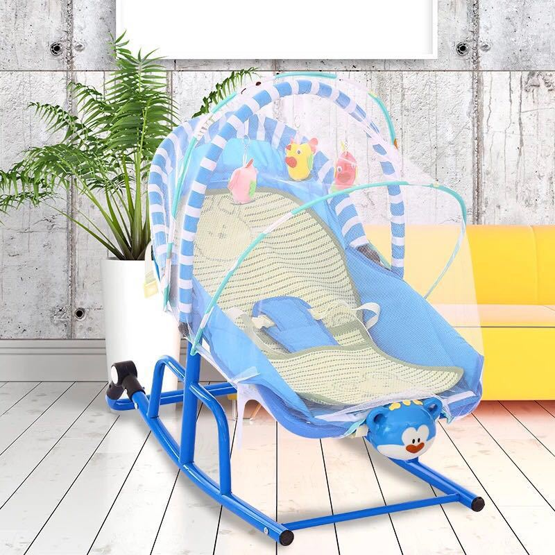 Multi-function Baby Baby Rocking Chair With Music  To Placate Chair Children Cradle Treasure Artifact Baby Bassinet
