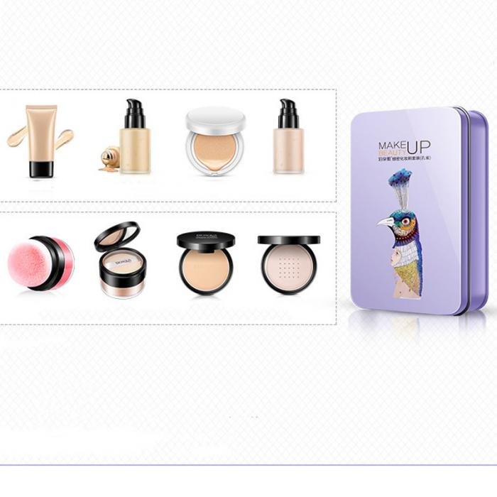 2017 New Hot BIOAQUA 7Pcs Makeup Brushes Set Eye Lip Face Foundation Make Up Brush Kit Soft Fiber Hair Tools Fastshipping WH998 19