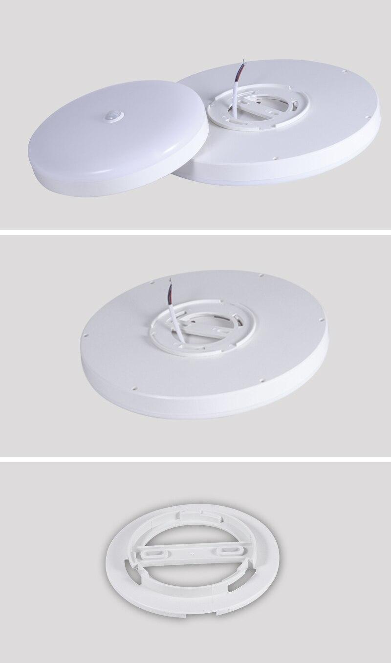 LED Ceiling Light 220V 12W 18W 20W 50W Modern Ceiling Lamp Lights 110V Surface Mount Lighting Fixture For Living Room Bathroom