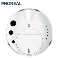 PhoReal 1200PA Smart Robot Vacuum Cleaner Wet And Dry Water Washing Robot Cleaner wifi Robotic Vacuum Cleaner For Home